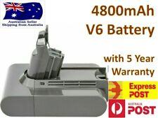 21.6V 4800mA Battery For Dyson V6 SV03 SV04 SV05 SV06 DC58 DC59 DC61 DC62 Animal