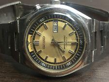 RARE SEIKO BELLMATIC 4006-6040 ALARM, RUNNING VINTAGE 1977 GOLD DIAL