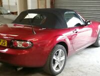 Mazda MX5 Mk3 2005-2015 Mohair+Glass Hood/Roof Fitted and Frame Overhauled £740