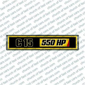 CHROME TRUCK BADGE #7002 TO SUIT KENWORTH C-15 550 HP DASH INTERIOR