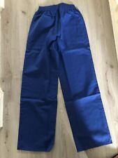 New Alexandra WorkWear Unisex Trousers Foodtrade Large Blue Elasticated Waist