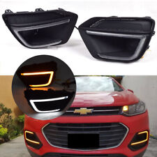 Fit For Chevrolet Trax 2017-2019 LED Daytime Running Light DRL Lamp Turn Signal
