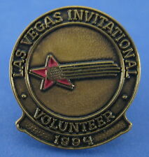 Las Vegas Invitational Lapel Pin Bronze Red Star Golf Ball Volunteer 1994