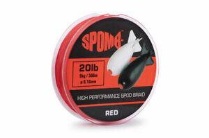 Spomb Spod Braid 20lb 300m or Braided Shockleader 50lb 50m NEW Carp Fishing