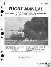 Kaman Huskie HH-43 manual HISTORIC ARCHIVE RARE Vietnam helicopter 1950's 60's