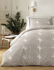 Marimekko Mehilaispesa Duvet Cover Set, TWIN, Metallic Brown 100% Cotton NEW