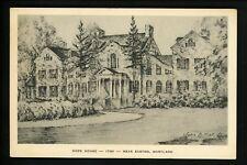 Maryland MD postcard Easton, Hope House Artist Signed John Moll