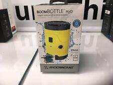 Scosche Boom Bottle H20 Waterproof Wireless Speaker Yellow