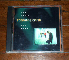 CD: Econoline Crush - The Devil You Know (1997) Home Surefire All That You Are