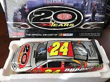 2012 Jeff Gordon #24 Dupont 20 Years Celebratory 20th Anniversary Homestead RARE