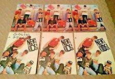 6 New Kids on the Block School Folders, Double Pocket, 3-Ring, 2 Styles, Used