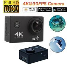 "2"" 30FPS 16MP 4K WIFI Sports Action Camera 1080P DV HD For Gopro 170° Waterproof"