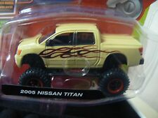 10Vox Tracksters 2005 Nissan Titan 1:64 Series 2 Limited Edition Yellow Truck