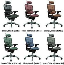 Eurotech Ergohuman ME7ERG High Back Mesh Chair (Your choice between 6 colors!)