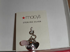 Sterling Silver Dream Charm for Charm Braclet Brand New from Macy's
