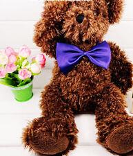 Multicolor Cute Bowknot Tie For Pet Dog Cat Bow-tie Pet Accessories #Deep Purple