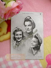 LARGE PRINT 1940s 3 Styles Lady's Turban Knitting Pattern Roll, Scarf & Crown