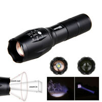 Zoomable Focus Infrared 5000lm XM-L T6 XQ5 IR-940NM LED Flashlight Lamp Torches