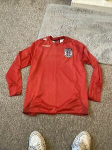 Size Med England Shirt Long Sleeve (s