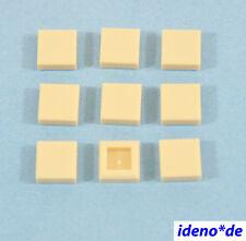 LEGO STAR WARS ARCHITECTURE CONSTRUCTION BASIC 9 pcs.tuile 1 x 1 tan 3070 B NEUF
