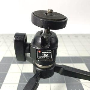 MANFROTTO 482 Micro Ball Head Tripod Head & Stand Camera Mini Small Mount