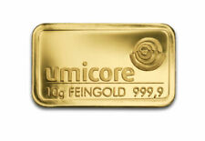 Barres d'or 10 g