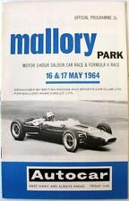 MALLORY PARK 16/17th May 1964 Motor Racing Official Programme