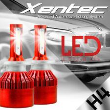 CREE COB H4 9003 HB2 LED Headlight Kit Hi-Lo Car White Light Bulbs Moreultrathin