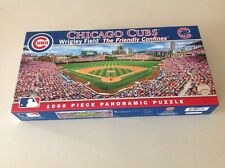Masterpieces Chicago Cubs Wrigley Field 1000 Piece Panoramic Jigsaw Puzzle.