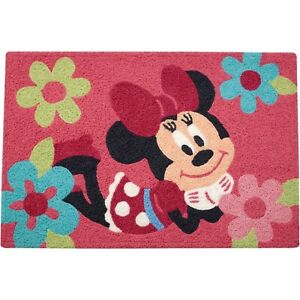 Minnie Mouse Decorative Accent Rug by Disney Baby