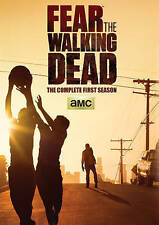 Fear the Walking Dead: Complete First Season 1 (DVD, 2015, 2-Disc) w/ slipcover