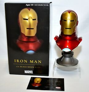Diamond Select Toys Legends in 3D Iron Man 1:2 Scale Resin Bust #51/1000