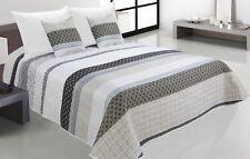 Zweiseitige Tagesdecke Bettüberwurf Steppdecke 3Tlg.180x220 Tavira 002