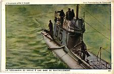 WW1 WWI Propaganda - L'Angleterre Prête à Frapper (24) - Marina Militare - PV969