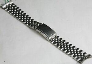 For Old GMT or EXPLORER Rolex 6251H 20mm  Big Logo Trim Clasp Jubilee Bracelet