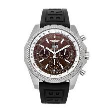 Breitling Bentley 6.75 Speed Auto Steel Mens Strap Watch Date A4436212/Q504