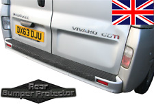 "VAUXHALL VIVARO '15 - '19 REAR BUMPER PROTECTOR ""OVER THE EDGE""  FULL LENGTH"