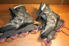 K2 Carbon, Black / Grey Soft Boot, Roller Blades, Size Men's 12, Camano Softboot