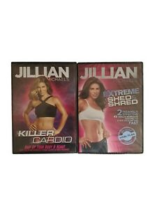 Jullian Michaels Workout Training DVD Videos Lot Of 2 New Sealed Cardio Abs