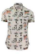Camicie casual e maglie da uomo hawaiiani in cotone