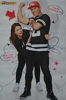 MELINA SOPHIE & LEON MACHERE - A3 Poster (42 x 28 cm) - YouTube Star Clippings