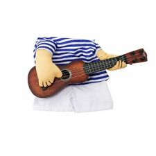 Dog Costume Guitar Player Cosplay Cat Party Costumes Clothes For Small Large Pet
