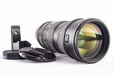 Nikon AF-S VR Nikkor 70-200mm f/2.8 G SWM ED Telephoto Zoom Lens with Caps V11