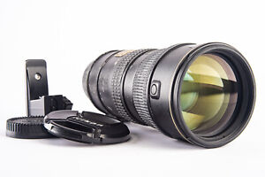 Nikon AF-S VR Nikkor 70-200mm f/2.8 G SWM ED Telephoto Zoom Lens with Caps V11