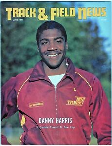 1985 Track and Field News Danny Harris Iowa State Double Threat Jesse Owens