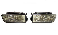BMW E36 3 Series 1990-2000 Smoked Front Fog Spot Lights Lamps Pair Left Right