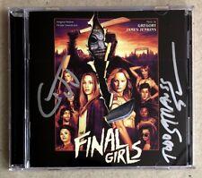 THE FINAL GIRLS * SOUNDTRACK CD w/ SIGNED BOOKLET * BN! * GREGORY JAMES JENKINS