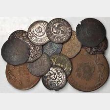 POLAND / RIGA (LATVIA) 1632-1794 OLD COLLECTION OF (25) MINOR COINS, SOME SILVER