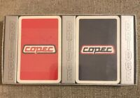 Vintage Copec Swiss Playing Cards Advertising NEW SEALED Decks Lot of 2 Bridge