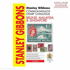 2017 Stanley Gibbons - Brunei Malaysia & Singapore Stamp Catalogue 5th Edition